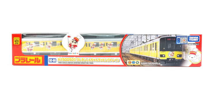 Plarail Crayon Shin Chan Wrapping Train DV