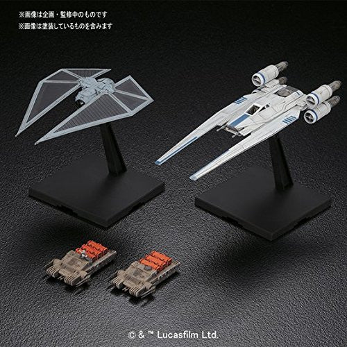 '-2200 STAR WARS 1/144 U-WING FIGHTER & TIE STRIKER