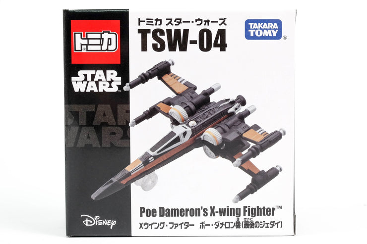 TOMICA STAR WARS TSW-04 POE DAMERON'S X-WING FIGHTER (THE LAST JEDI)