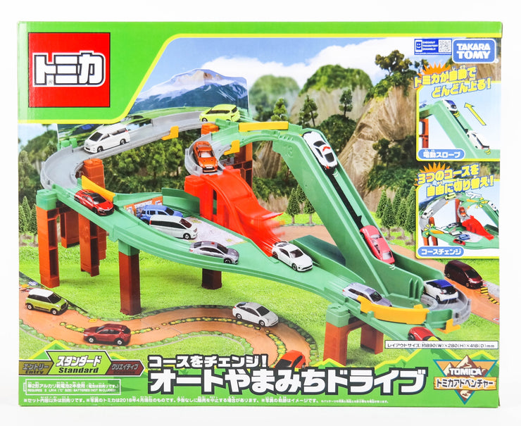 TOMICA SYSTEM AUTO MOUNTAIN DRIVE