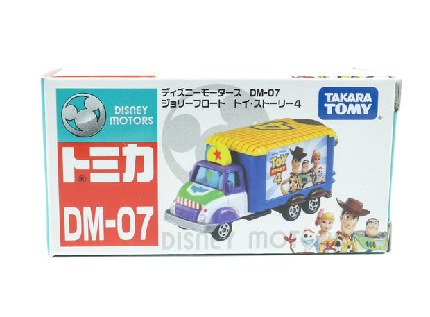 TS4 Tomica Disney Motors DM-07 Jolly Float