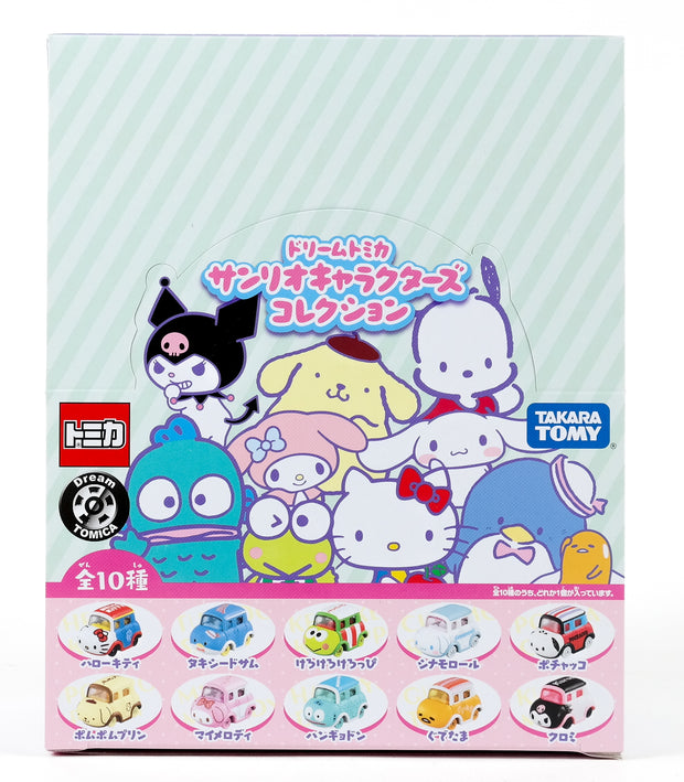 Dream Tomica Sanrio Collection Complete Set (Box of 10pcs)