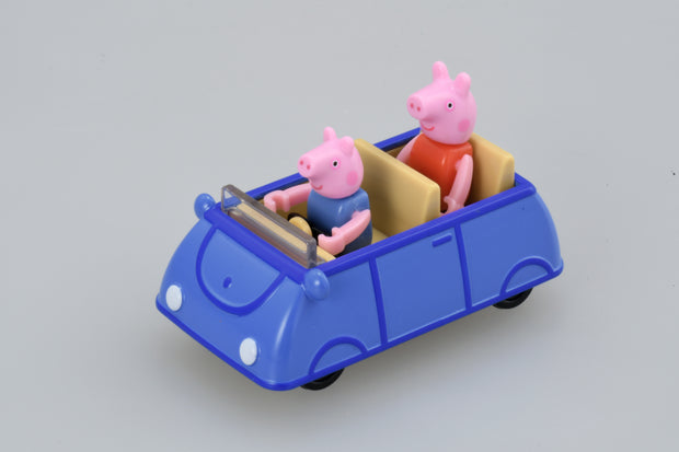 Dream Tomica George Pig x Family Car (Blue) [George only]