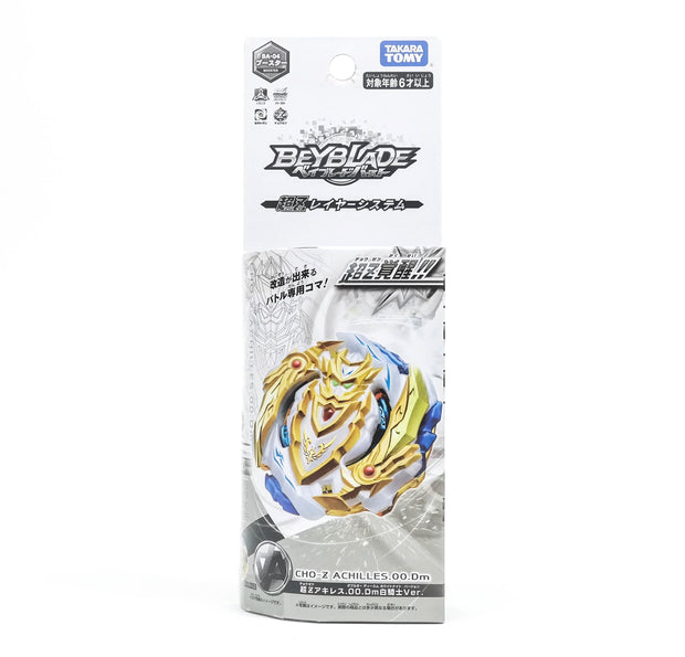 BA-04 Beyblade Booster Cho-Z Achilles 00.DM (Special Ver)