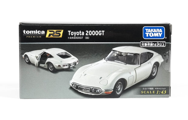 Tomica Premium RS Toyota 2000GT (White)