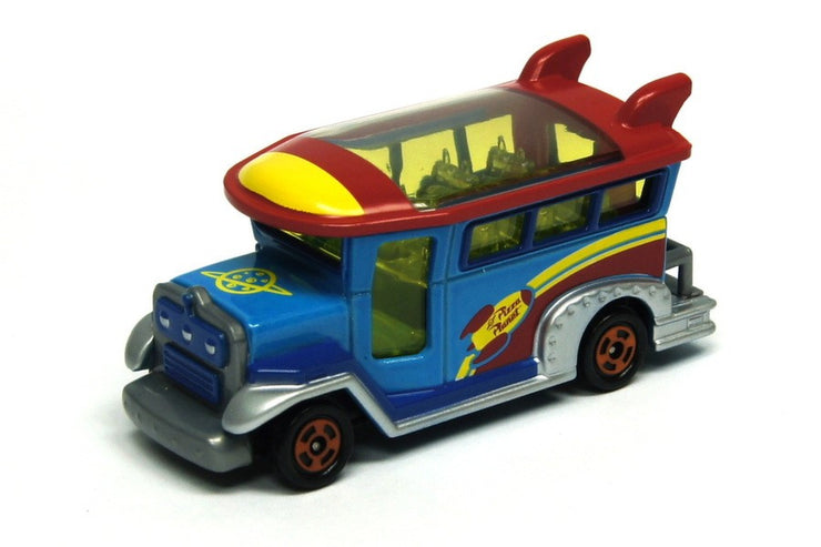 TOMICA DISNEY MOTORS DM-05 JUMBOLLY CRUISER ALIEN