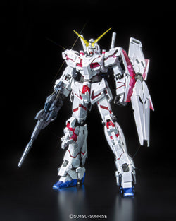 MG 1/100 UNICORN GUNDAM (RED/GREEN TWIN FRAME EDITION) TITANIUM FINISH