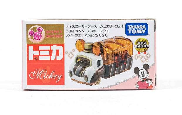 Tomica Disney Motors Jewelryway Lulu Trunck Mickey Mouse Sweets Edition