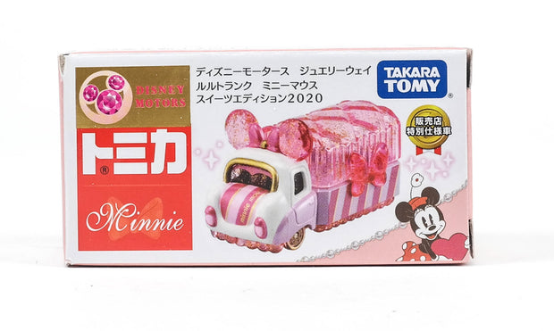 Tomica Disney Motors Jewelryway Lulu Trunck Minnie Mouse Sweets Edition