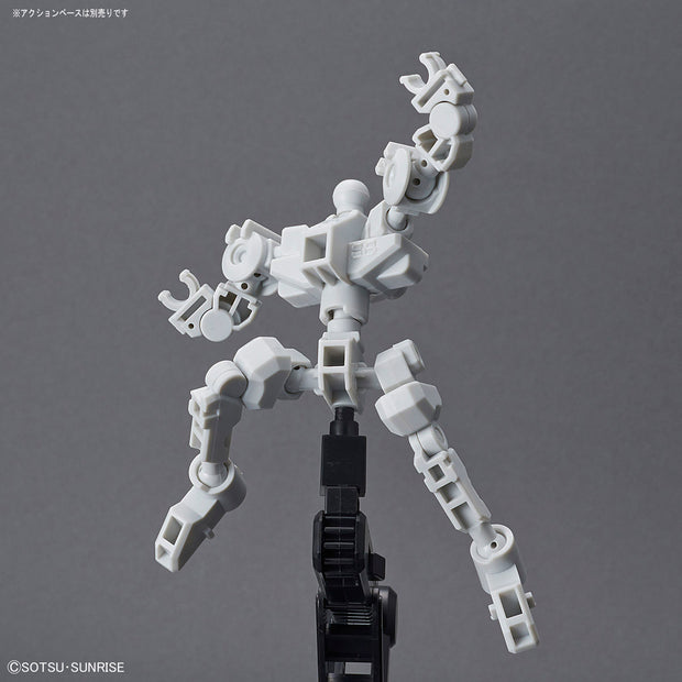 SD GUNDAM CROSS SILHOUETTE - CS FRAME [WHITE]