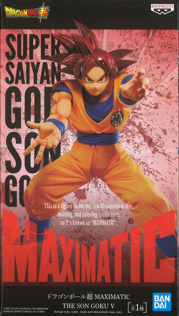 Dragon Ball Super Maximatic The Son Goku V