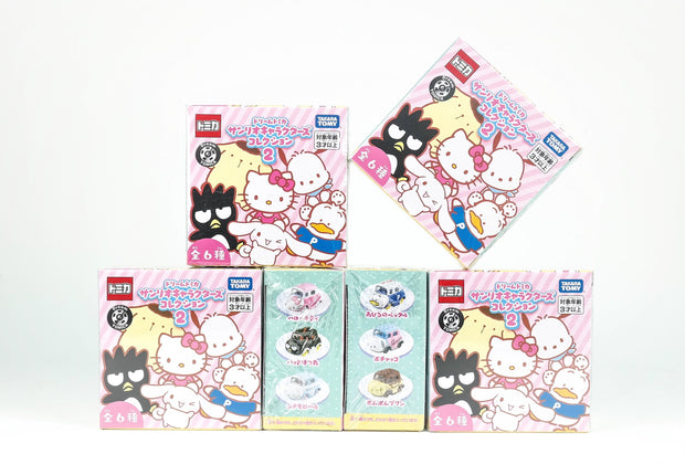 Dream Tomica Sanrio Charactors Collection 2 (Box of 6pcs)