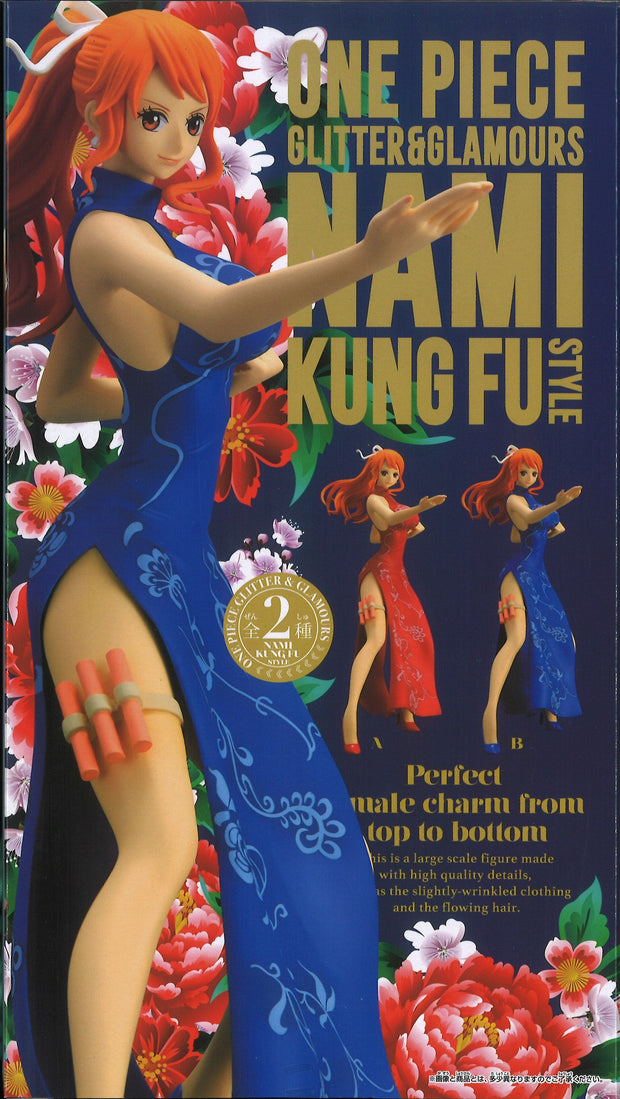One Piece Glitter & Glamours Nami Kung Fu Style (Ver.B)