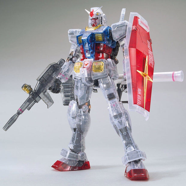 Mg 1/100 The Gundam Base Limited RX-78-2 Gundam Ver.3 Clear Color