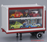 TOMICA DISNEY MOTORS TRUCK TRAILER CONTAINER