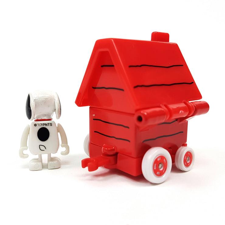 DREAM TOMICA FIGRIDE SNOOPY HOUSE CAR '17
