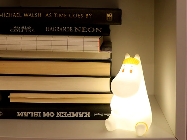 Moomin 13cm Snorkmaiden Night Light with Timer
