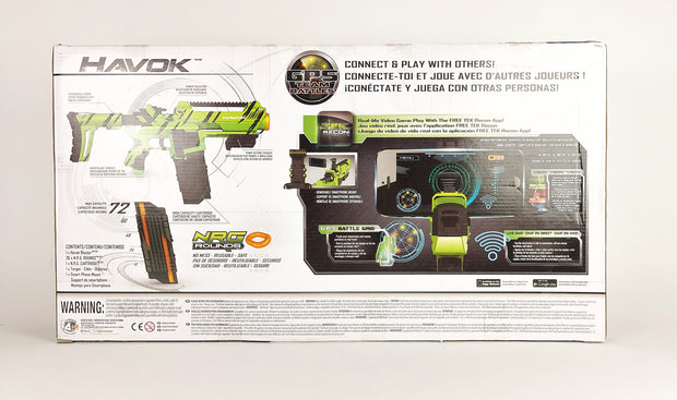 Tek Recon - Havok Blaster [Shelf Wear]