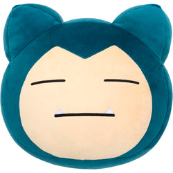 Pokemon Plush Mocchi Mocchi Face Cushion Snorlax