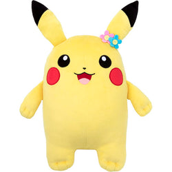 Pokemon Plush Mocchi M Size Pikachu (Girl)