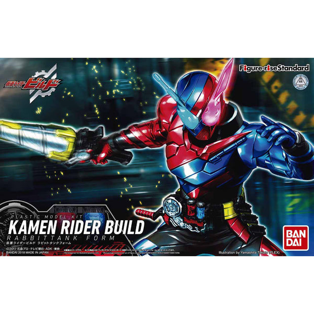 FIGURE-RISE STANDARD MASKED RIDER BUILD RABBIT TANK FORM