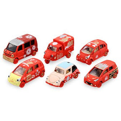 821229 NEW YEAR TOMICA (RED) SET OF 6CARS