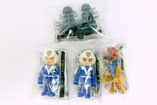 HYPER BLUE POLICE SQUADDER WITH WEAPON SET B