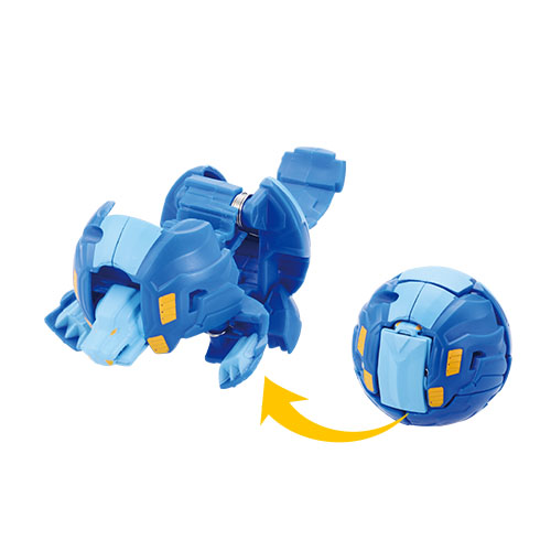 Bakugan Baku009 Lion Blue (Ball 2B)