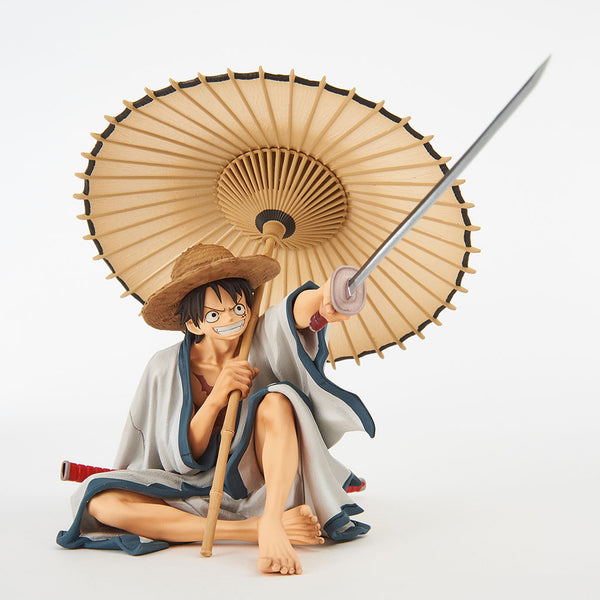 One Piece World Figure Colosseum 2 Vol 6 (A: Normal Color) Luffy