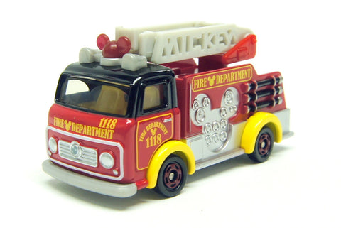 TOMICA DISNEY MOTORS DM-17 FIRE TRUCK MICKEY MOUSE