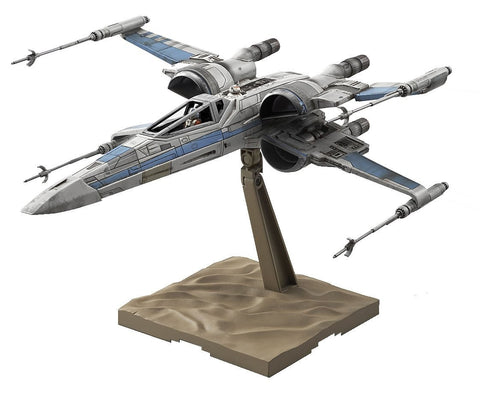 STAR WARS 1/72 RESISTANCE X-WING FIGHTER (THE FORCE AWAKEN)
