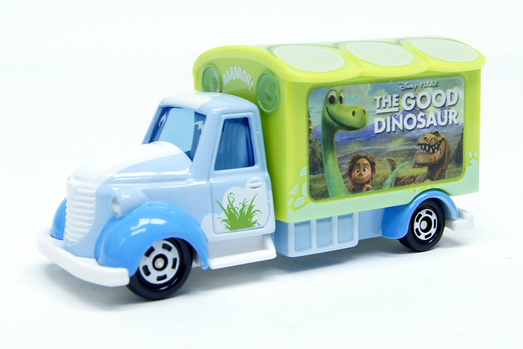TOMICA DISNEY MOTORS DM GOODDAY CARRY THE GOOD DINOSAUR