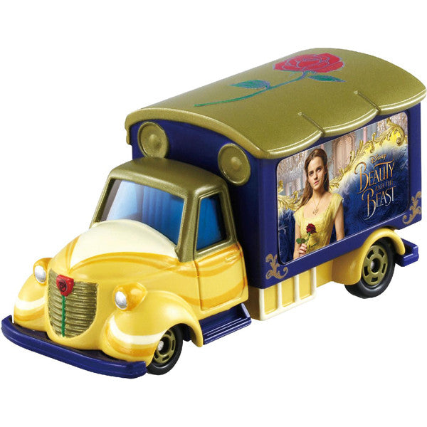 TOMICA DISNEY MOTORS GOODDAY CARRY BEAUTY AND THE BEAST