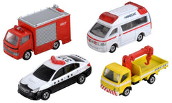 TOMICA EMERGENCY VEHICLE SET