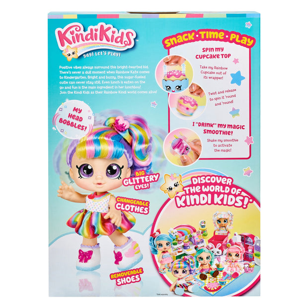 Kindi Kids KKS S2 Toddler Doll Snack Time Friends Rainbow Kate