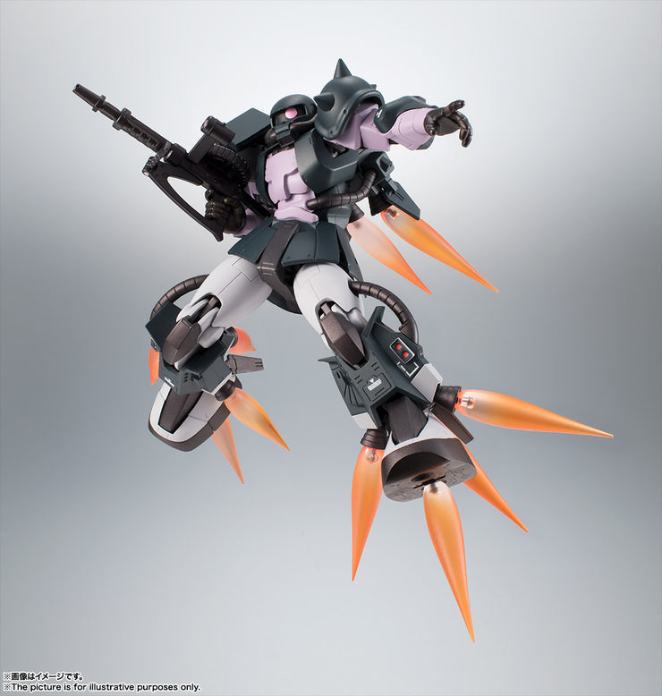 RS (Side Ms) MS-06R-1A Zaku II High Mobility Type Black Tri Stars Ver Anime
