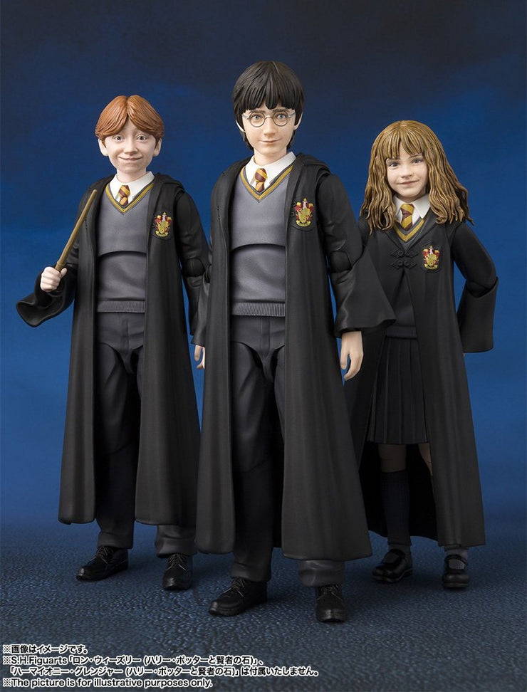[Harry Potter And The Philosopher's Stone Pack] SHF Harry Potter + Ron Weasley + Hermione Granger