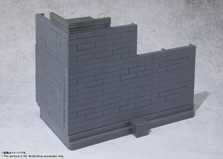 Tamashii Option Brick Wall (Gray Ver)