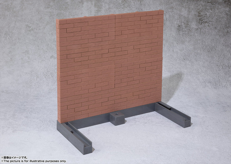 Tamashii Option Brick Wall (Brown Ver)