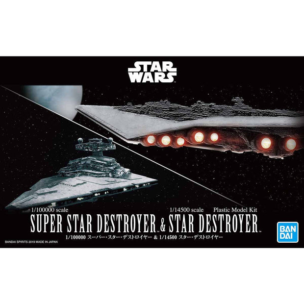 1/100000 Super Star Destroyer & 1/14500 Star Destroyer