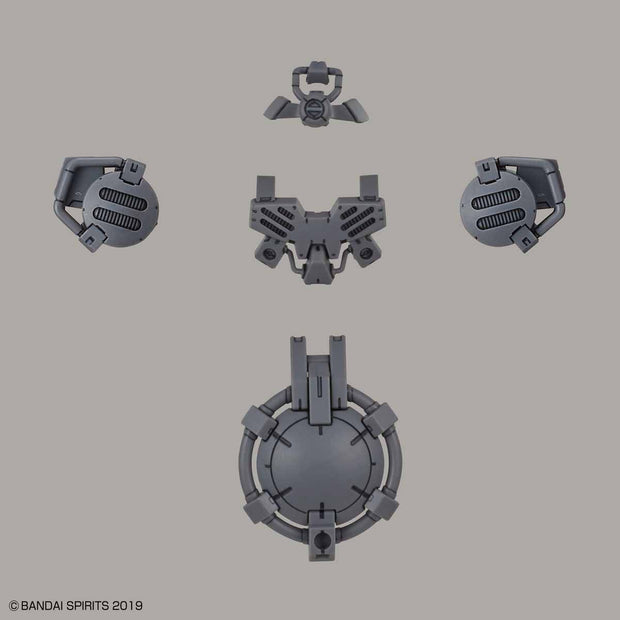 30MM 1/144 Option Armor For Special Squd (Portanova Exclusive/Light Gray)