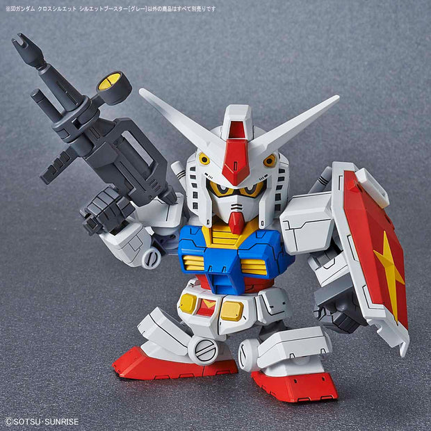 SD Gundam Cross Silhouette Booster (Gray)