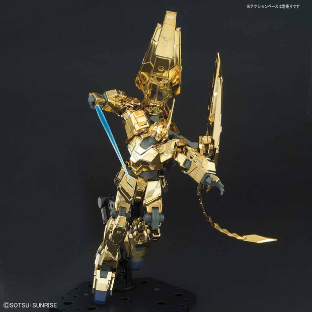 Hguc 1/144 Unicorn Gundam 03 Phenex (Unicorn Mode) (Narrative Ver.) (Gold Coating)