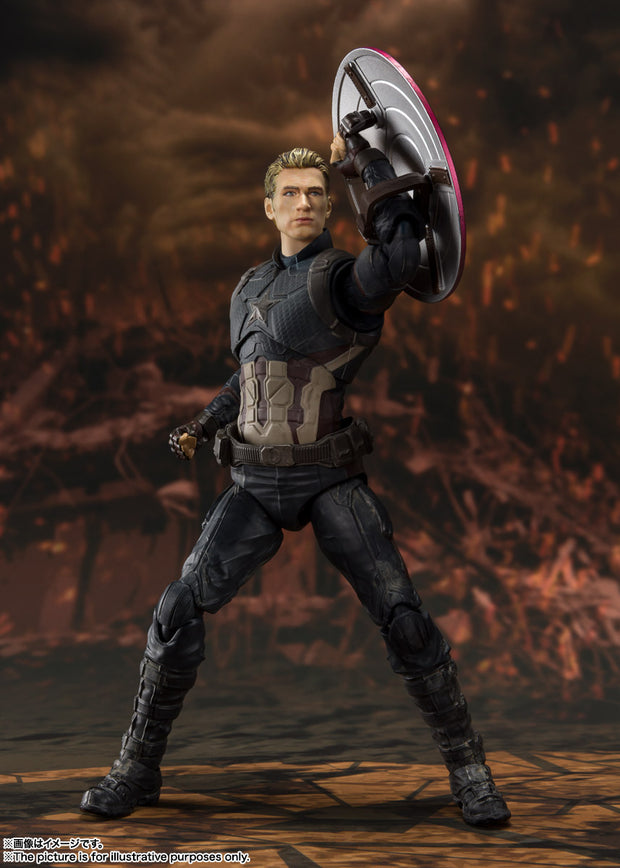 SHF Captain America (Final Battle) Edition (Avengers: Endgame)