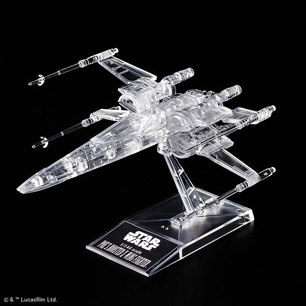 1/144 & 1/350 & 1/540 Star Wars: The Last Jedi Clear Vehicle Set