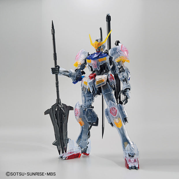 Mg 1/100 The Gundam Base Limited Gundam Barbatos (Clear Color)