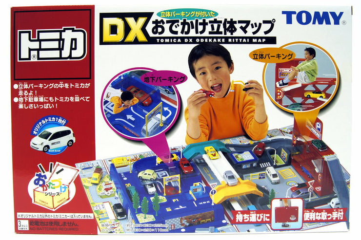 TOMICA DX 3D MAP WITH CAR