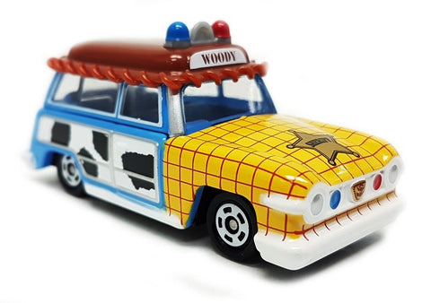 TOMICA DISNEY MOTORS DM-19 RAGOON WAGON WOODY