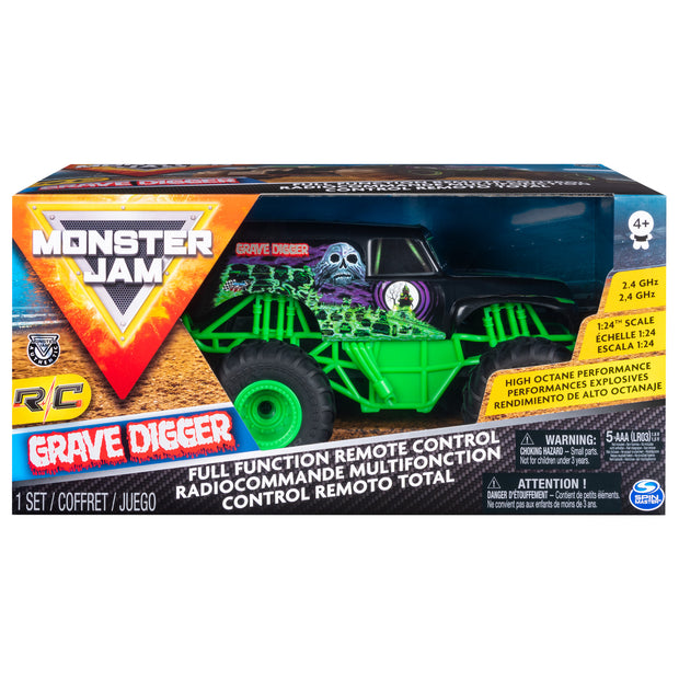 Monster Jam 1:24 RC Grave Digger