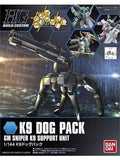 HG BUILD CUSTOM 1/144 K9 DOG PACK
